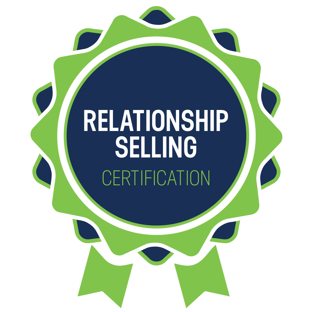 Relationship Selling badge